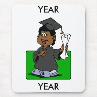 Graduation Lady Mouse Pad