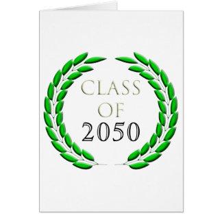Graduation Laurel Wreath Card Template