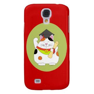 Graduation Maneki Neko Samsung Galaxy S4 Case