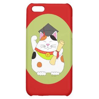 Graduation Maneki Neko iPhone 5C Covers