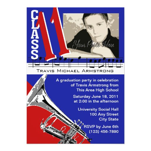 Graduation Music/ Trumpet Invite