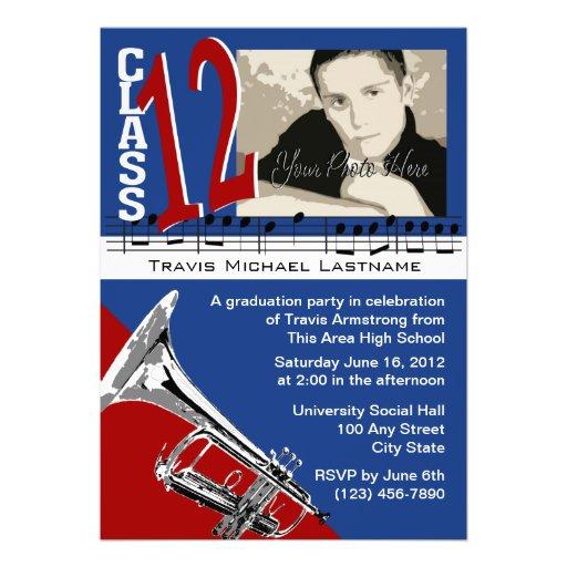 Graduation Music Trumpet Announcement