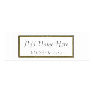 GRADUATION NAME CARD BUSINESS CARD TEMPLATE