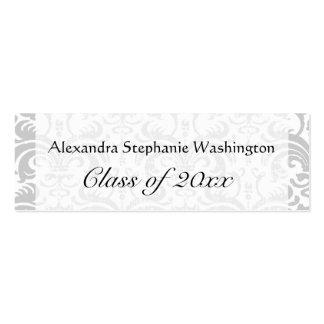 Graduation Name Card Set, Senior Class Keepsake Pack Of Skinny Business Cards