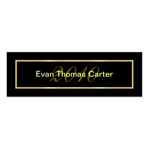Graduation Name Cards