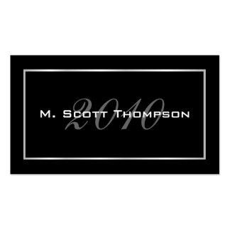 Graduation Name Cards - 2010 Business Card Template