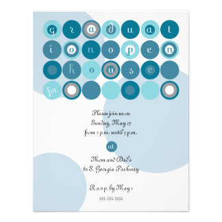 Graduation Open House Invite Postcard