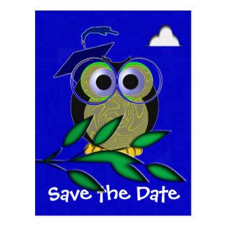 Graduation Owl Postcard