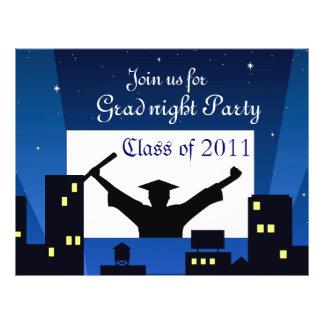 Graduation Party_ 21.5 Cm X 28 Cm Flyer