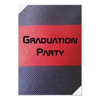 Graduation party 9 cm x 13 cm invitation card