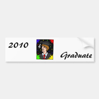Graduation Party Car Bumper Sticker