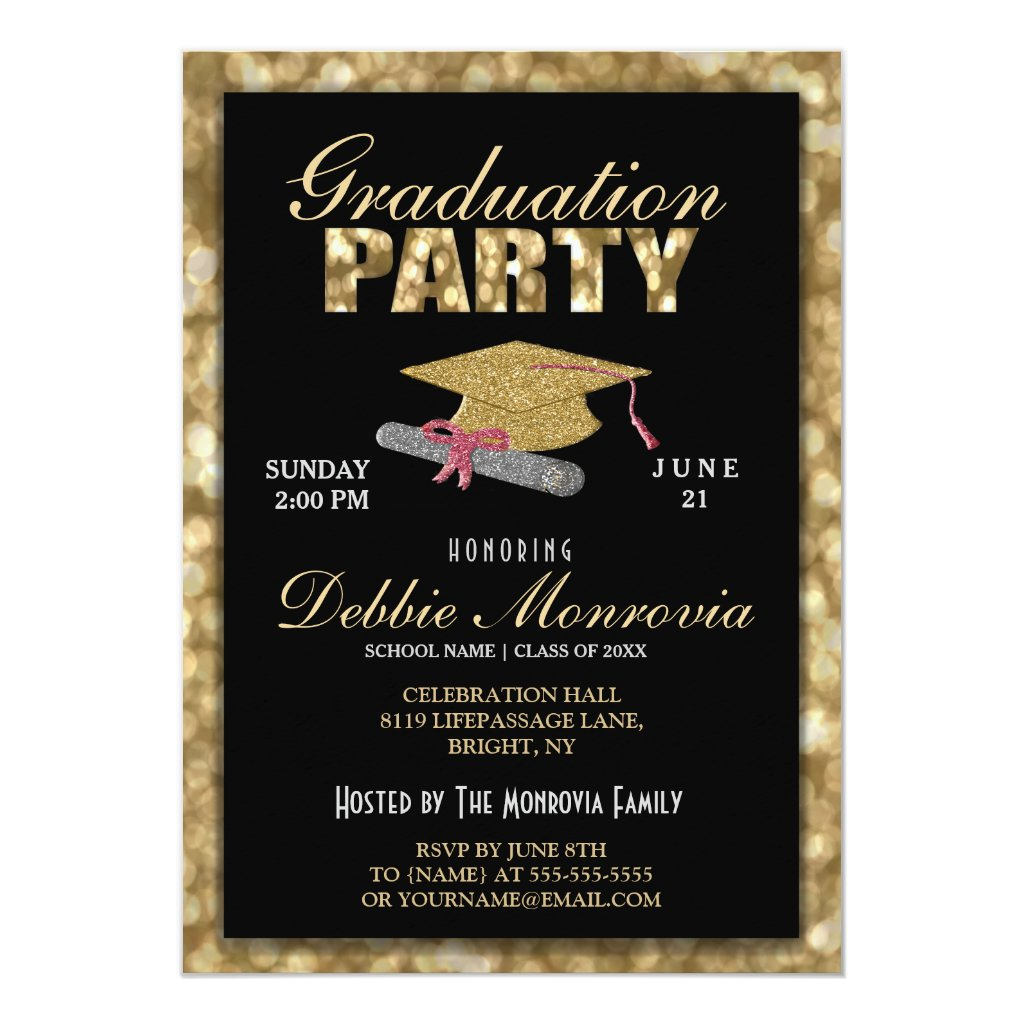 Graduation Party Card
