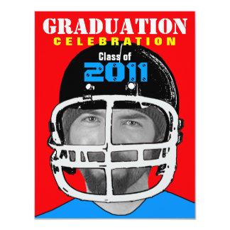 Graduation Party Invitation Athlete Photo Insert 2