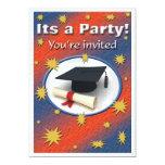 Graduation party invitation custom invite