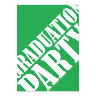 Graduation Party Invitation - green