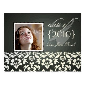 Graduation party invite postcards