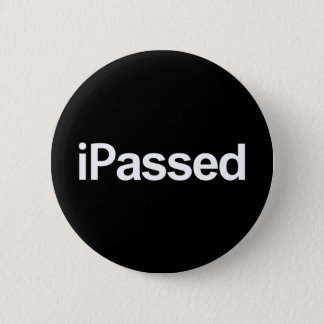 graduation passed your exams or driving test pass 6 cm round badge