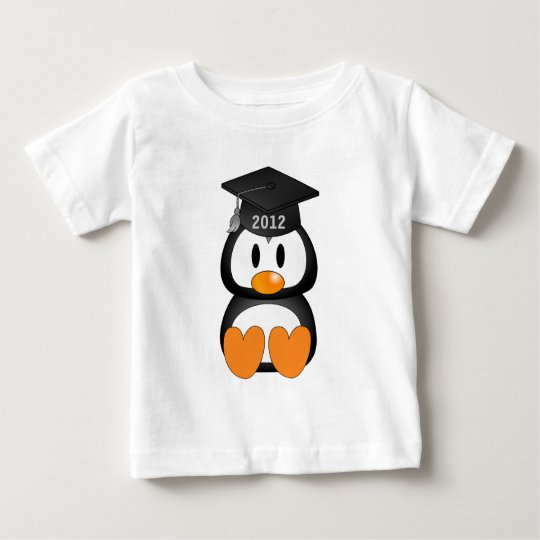 Graduation Penguin Baby T-Shirt