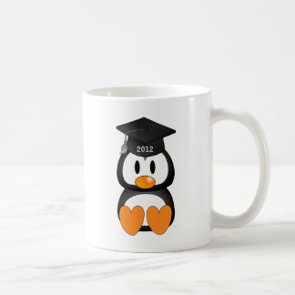 Graduation Penguin Basic White Mug