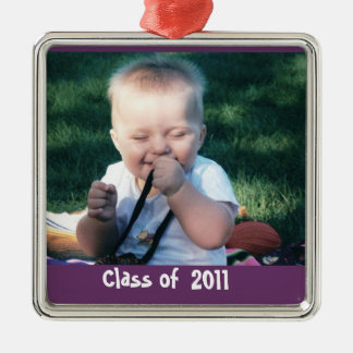 Graduation Photo Keepsake Christmas Ornament