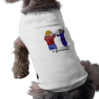 Graduation Photography Dog Tee Shirt