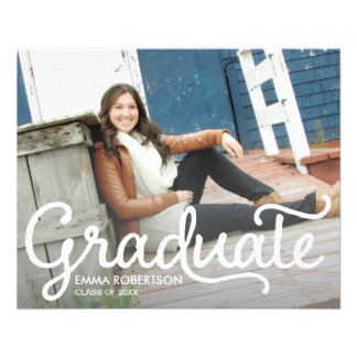 Graduation Postcard 11.5 Cm X 14 Cm Flyer