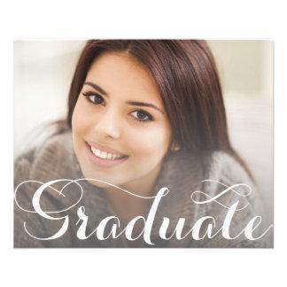 Graduation Postcard Template 11.5 Cm X 14 Cm Flyer