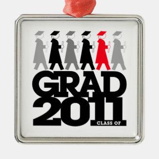 Graduation Processional Class Of 2011 Ornament