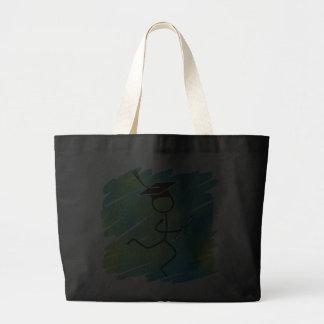 Graduation Runner Jumbo Tote Bag
