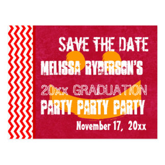 Graduation Save the Date Any Year Modern V10R Post Cards