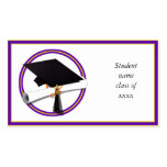 Graduation School Colours Purple and Gold