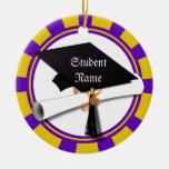 Graduation School Colours Purple and Gold (ZOOM!)