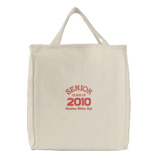 Graduation - Senior Class of 2010 Embroidered Bag