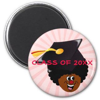 Graduation: Senior Class of 2015 Graduates 6 Cm Round Magnet