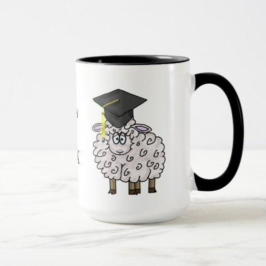 Graduation Sheepskin Mug Customise Year!