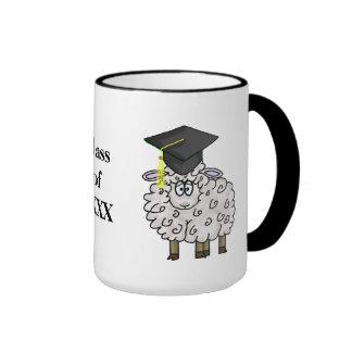 Graduation Sheepskin Mug  Customize Year!