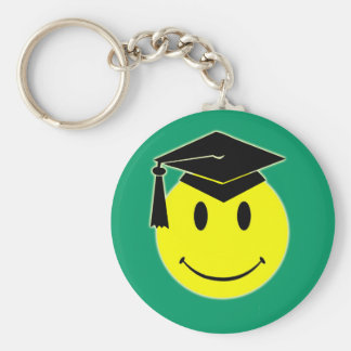 Graduation Smile Keychain