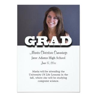 Graduation Standout Graduation Announcement