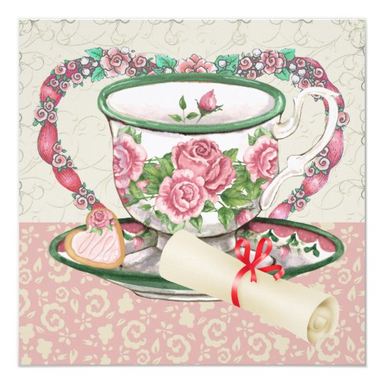 Graduation Sweet Coffee / Tea Party - SRF Card