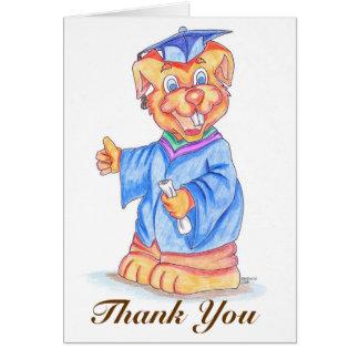 Graduation Thank You Greeting Card