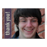 Graduation thank you greeting cards