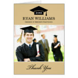 Graduation Thank You Photo Cards | Neutral Colours