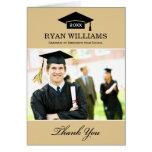 Graduation Thank You Photo Cards | Neutral Colours