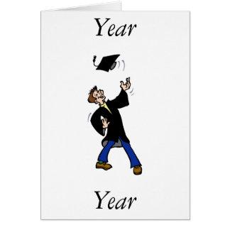 Graduation Toss Note Card