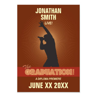 Graduation Tour Invitation (guy)