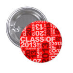 Graduations Class Of 2013 Red Button