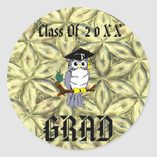 Graduations Round Sticker