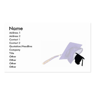 GraduationServices, Name, Address 1, Address 2,... Pack Of Standard Business Cards