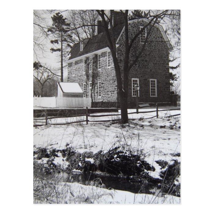 Graeme Park in the Snow - 1989 Postcard