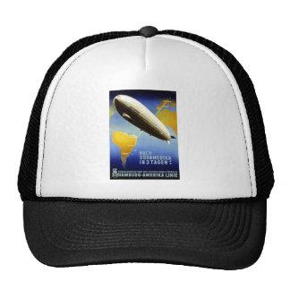 Graf Zeppelin Vintage German Travel Hat
